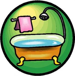 (Bañarse es un hábito de higiene)
