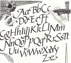 (La caligrafía es un arte)